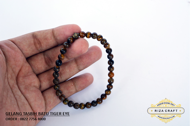 Gelang BAtu Tiger Eyes