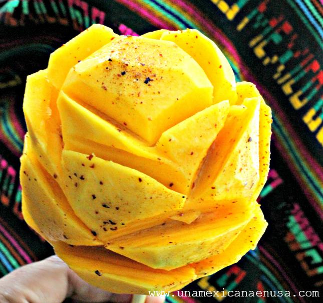 Cómo partir un mango como en México by www.unamexicanaenusa.com