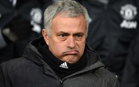 Jose Mourinho Angry face