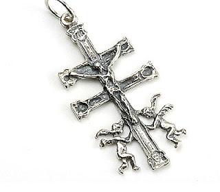 Amuletos y Talismanes: Cruz de Caravaca