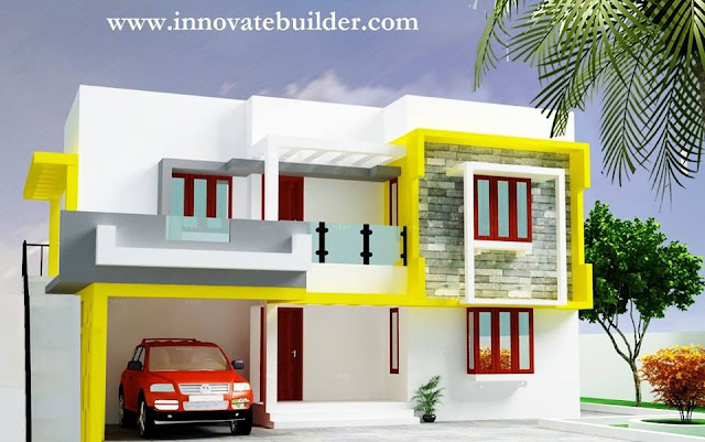 modern multi family house plans, modern multi-family building plans, multi unit house plans