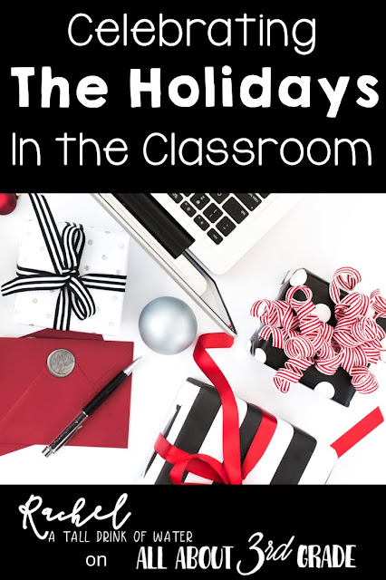 Tons of ideas and blog posts to celebrate Christmas and the holidays in the Classroom