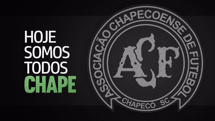 Todo nosso apoio a Chapecoense