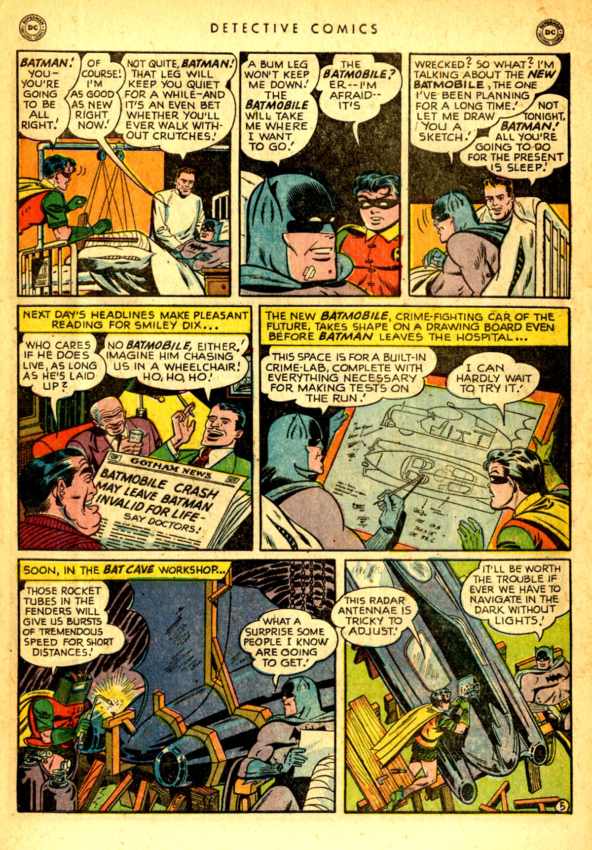 Read online Detective Comics (1937) comic -  Issue #156 - 7