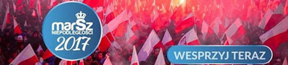 WESPRZYJ Marsz Niepodległości 2017 !