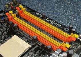 Dual channel memory 2 slots