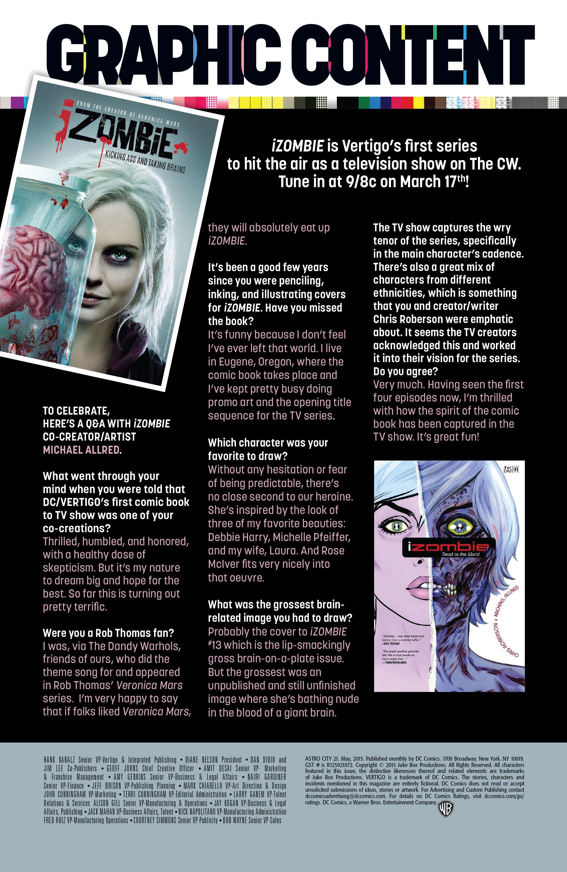 Read online Astro City comic -  Issue #21 - 27