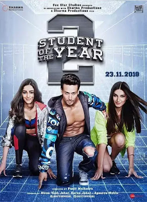 Student of the Year 2 2019 Hindi Movie Pre-DVDRip 700Mb