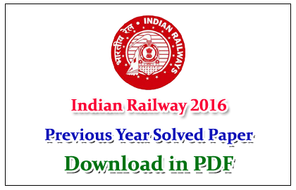 Indian Railway Gk Pdf