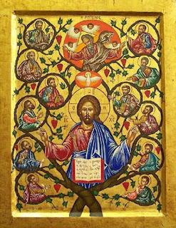 Jesus und der Baum des Lebens - Weltenbaum, Baum des Lebens