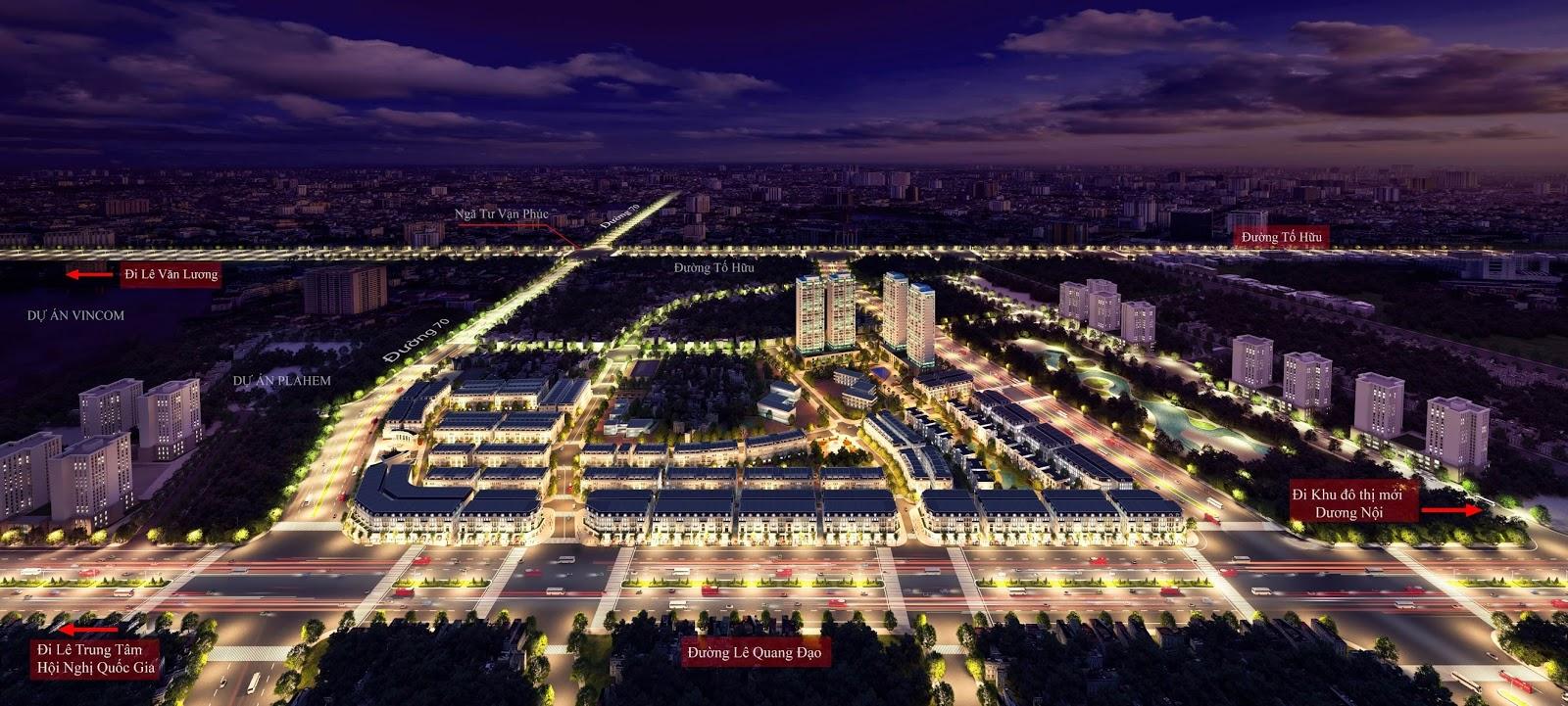 Tổng quan dự án Louis City Hoàng Mai