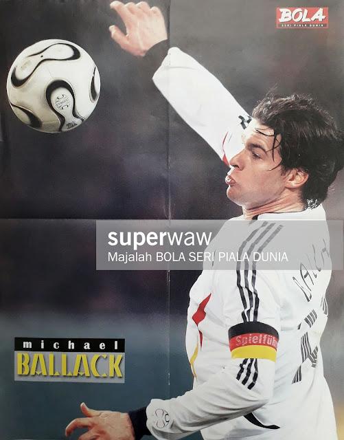 MICHAEL BALLACK GERMANY 2006