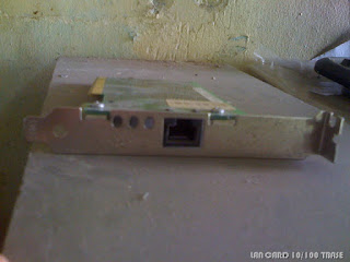 Local Area Network Card or LAN Card