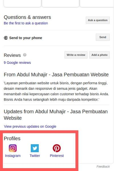 google bisnis abdul muhajir