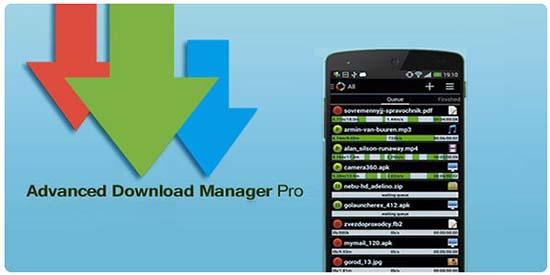 تحميل أحدث نسخة Advanced Download Manager مدفوعة ADM pro v7.6 لتنزيل الملفات