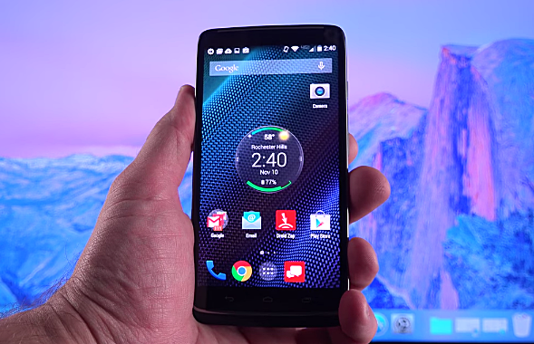 Motorola Droid Turbo, Most Powerful Smartphones 2015