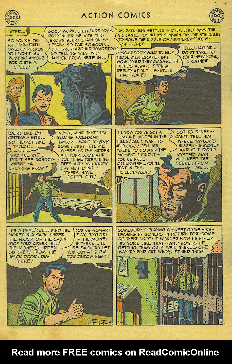 Read online Action Comics (1938) comic -  Issue #157 - 36