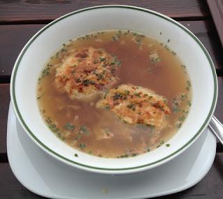 Kaspresseknodel soep