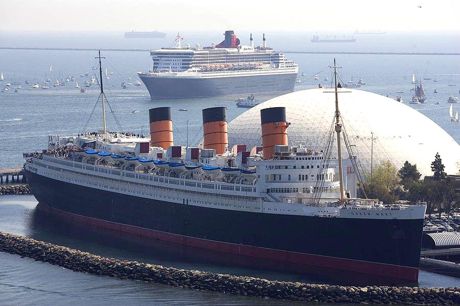 Art Now and Then: The RMS Queen Mary