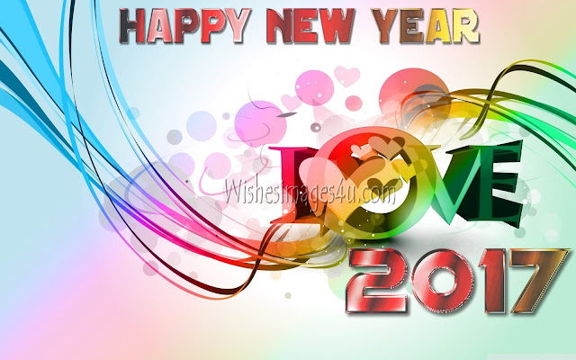 Love Wallpapers 2017 New Year Download Free
