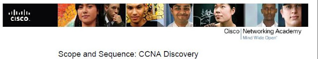CCNA Discovery : Scope and Sequence