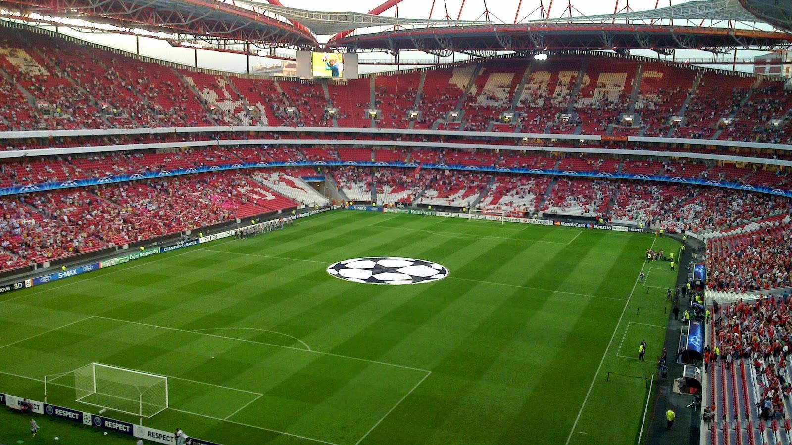 Pontos turísticos em Lisboa: Estádio da Luz do Benfica