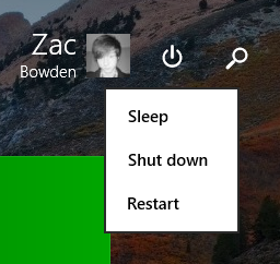 New Start Screen buttons on Windows 8.1 Update 1
