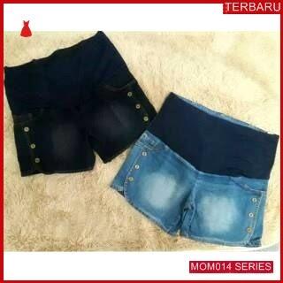 MOM014C12 Celana Hamil Jeans Modis Pendek Celanahamil Ibu Hamil