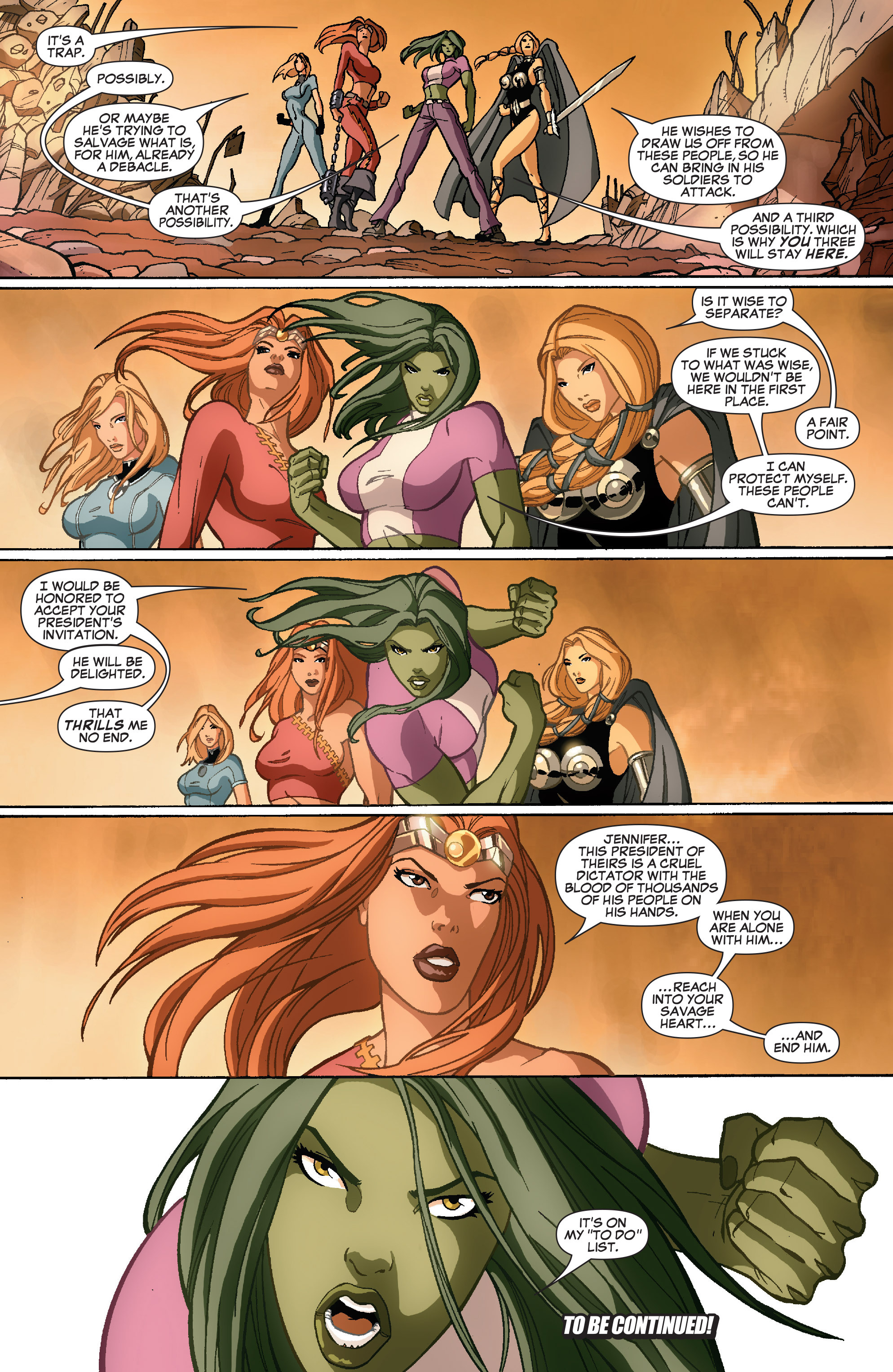 Read online She-Hulk (2005) comic -  Issue #35 - 23
