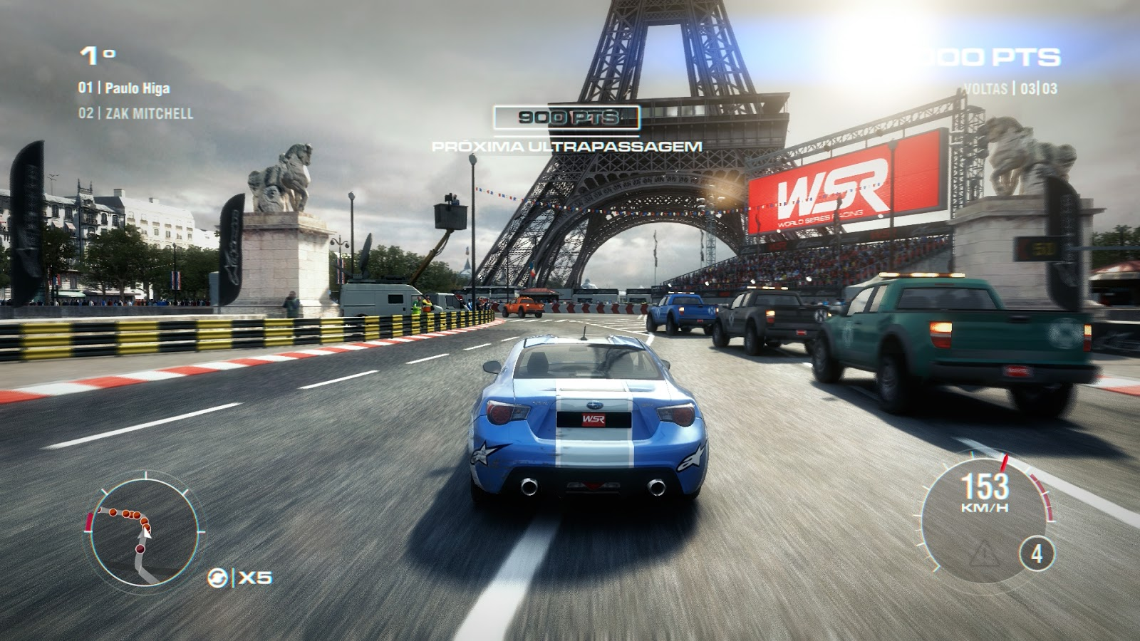 Driving game GRID 2