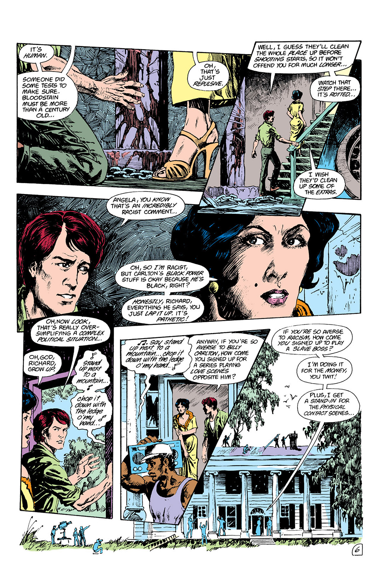 Swamp Thing (1982) Issue #41 #49 - English 7