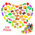 $11.25 (Reg. $24.99) + Free Ship Pretend Play Food Set for Kids (155 Pieces)!
