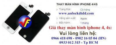 Phai lam gi khi iphone 4 bi roi vo mat kinh va thay o dau gia re
