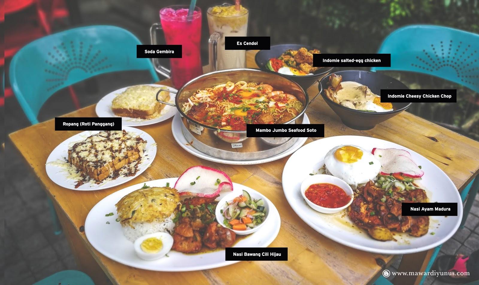 Indobowl Cafe Makanan Dia Sedap Sedap Weh Serius Tak Tipu