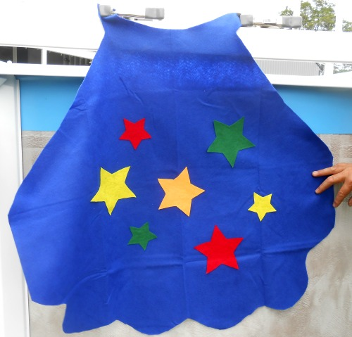 Passionate About Crafting : No-Sew Superhero Capes for Kids