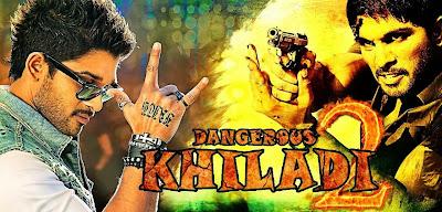 Download Dangerous Khiladi 2 (2013) 400MB BRRip 480P Hindi ESubs