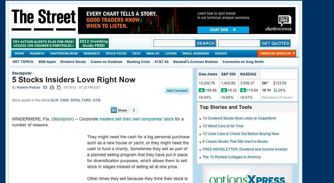 美股邦 Dr.CashFlow | 美股選擇權: 這些企業經營團隊偷偷買進自家股票....我們該跟進嗎?