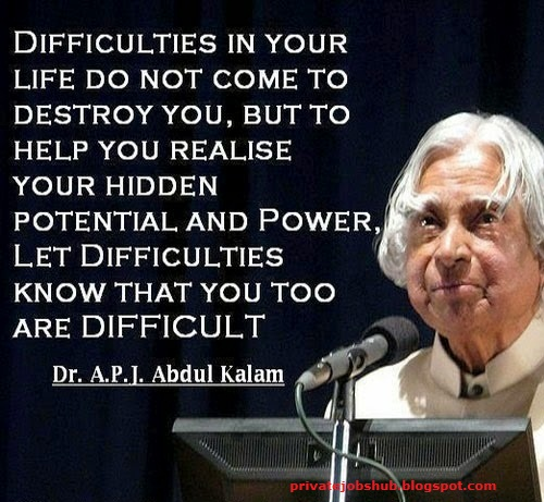 Inspirational Quotes By Apj Abdul Kalam For Students: 10 Best Quotes By APJ Abdul Kalam