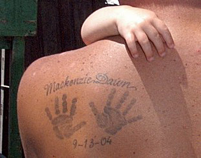 29089ca4d How to Place Baby Handprint Tattoo - Tattoo Art Design