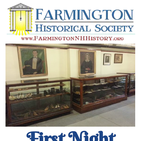 Farmington First Night Dec 31st - Share Community Spirit