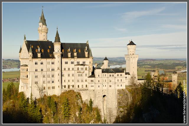 Castillo Neuschwanstein en Baviera (Alemania)