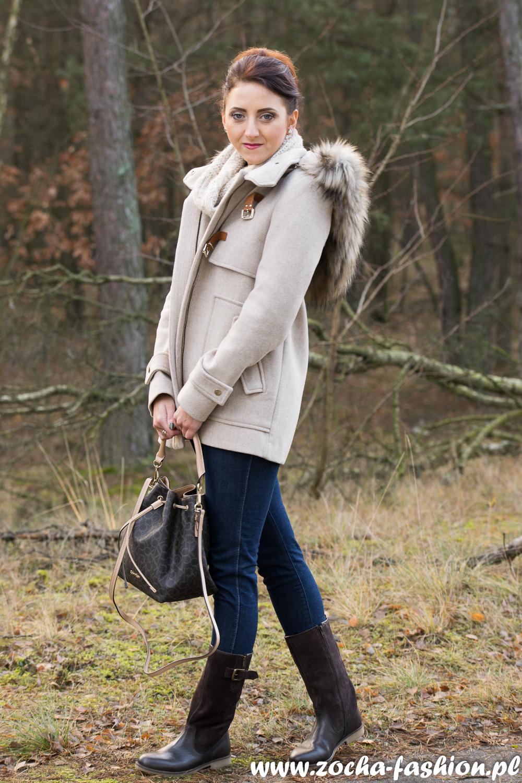 Zocha Fashion: Beżowa budrysówka, zamsz i Calvin Klein