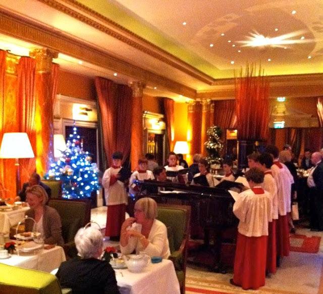 Christmas Trees Dorchester: Alexandra D. Foster Destinations Perfected: London