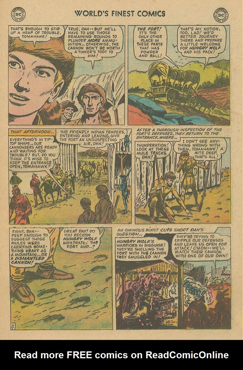Read online World's Finest Comics comic -  Issue #92 - 31
