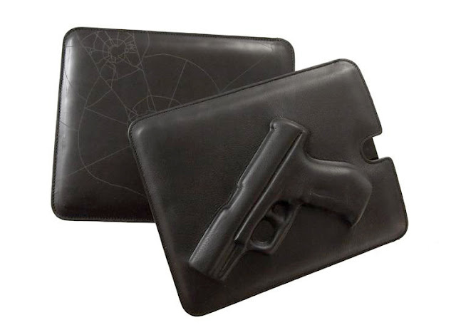leather embossed iPad cases