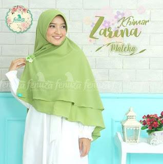 Khimar Fenuza Zarina Np Matcha
