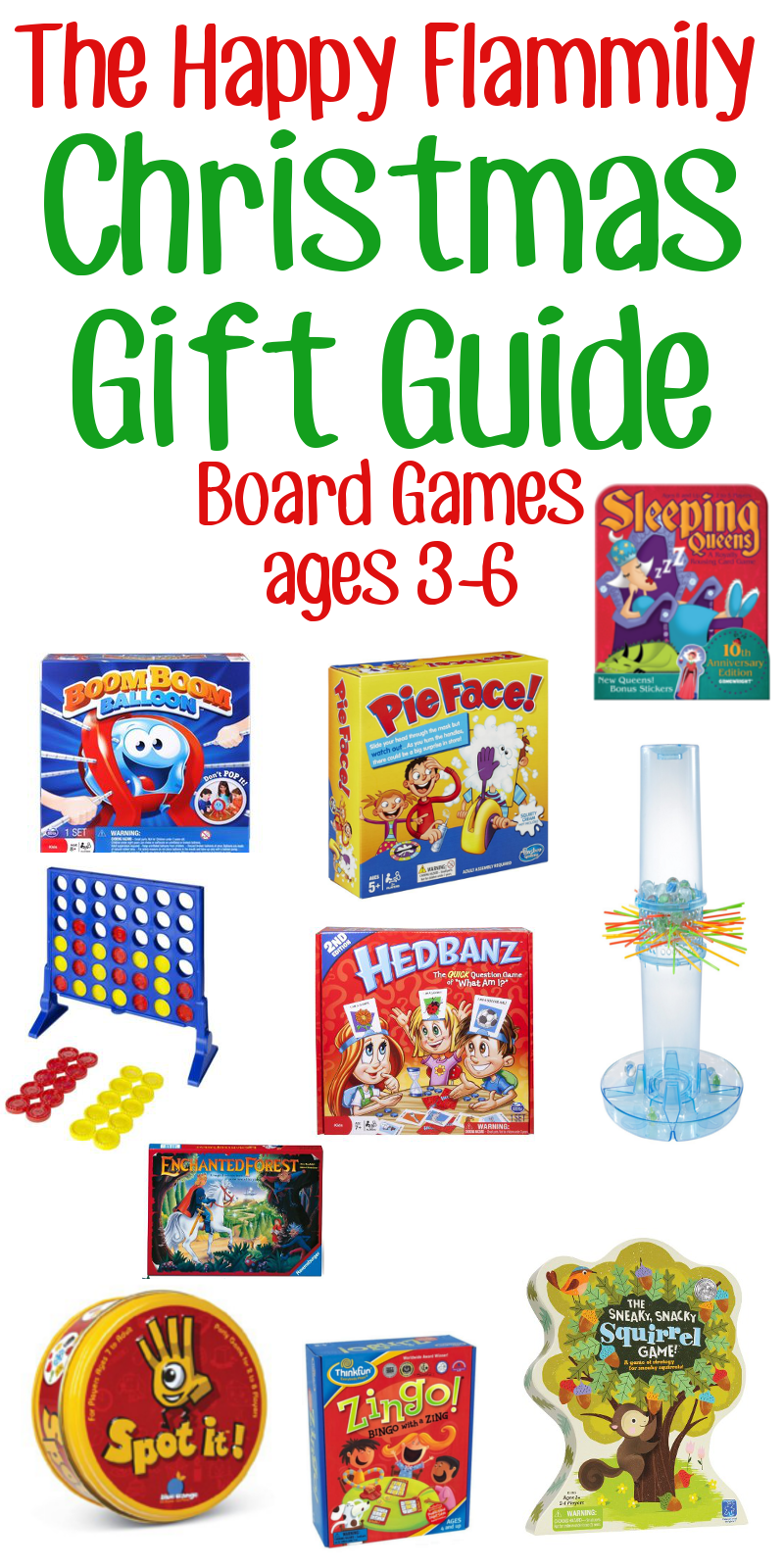 Board Game Gift Guide Ages 3-6 - The Happy Flammily