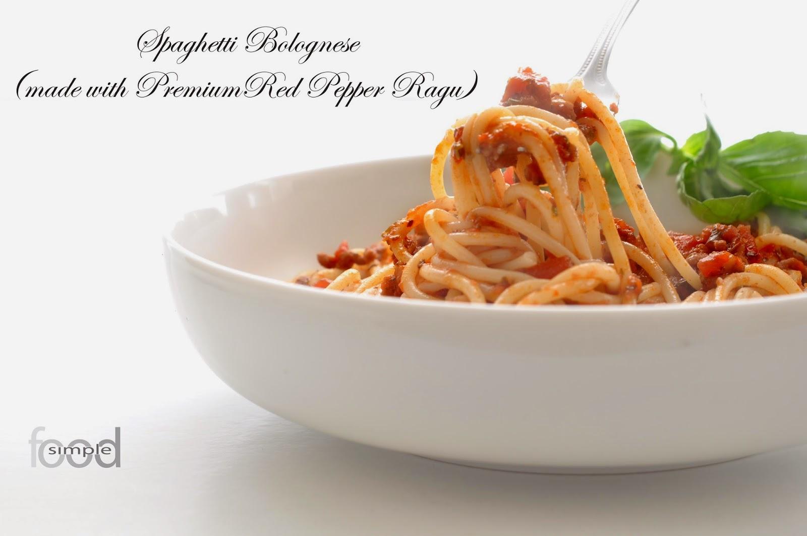 Spaghetti Bolognese ~ Simple Food
