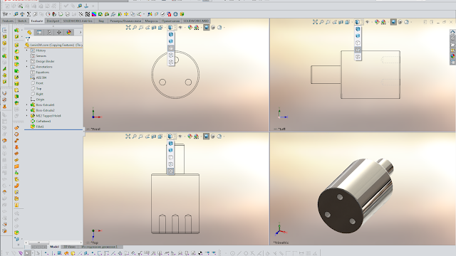 SolidWorks Viewports -Other Display Style