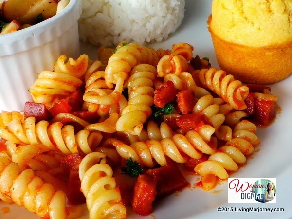 Kenny-Rogers-Garlic-Chorizo-Pasta via Woman-In-Digital